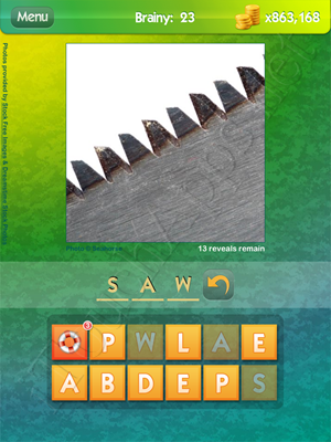 What's the Pic Brainy Level 23 Solution