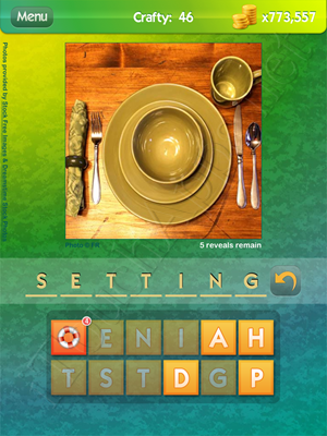 What's the Pic Crafty Level 46 Solution