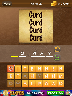 What's the Saying Tricky Level 37 Answer
