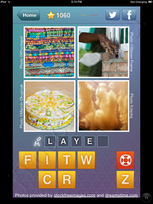What's the Word Level 1060 Solution