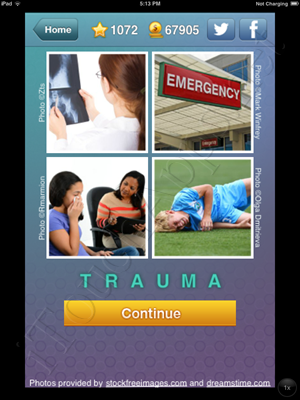 What's the Word Level 1071 Solution
