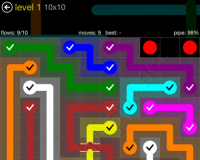 Flow Bridges Yellow Pack Cheat / Walkthrough / Solutions