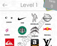 Logos Quiz Game Answers: Level 1 Part 2 – For iPod, iPhone, iPad