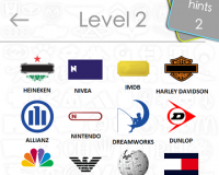 Logos Quiz Game Answers: Level 2 Part 4 – For iPod, iPhone, iPad