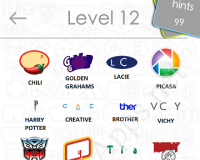 Logos Quiz Game Answers: Level 12 Part 1 – For iPod, iPhone, iPad