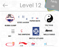Logos Quiz Game Answers: Level 12 Part 2 – For iPod, iPhone, iPad
