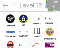Logos Quiz Game Answers: Level 12 Part 3 – For iPod, iPhone, iPad