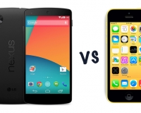 iPhone 5c vs Nexus 5