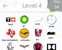 Logos Quiz Game Answers: Level 4 Part 1 – For iPod, iPhone, iPad