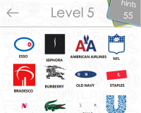 Logos Quiz Game Answers: Level 5 Part 3 – For iPod, iPhone, iPad