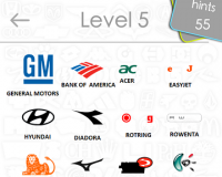 Logos Quiz Game Answers: Level 5 Part 4 – For iPod, iPhone, iPad