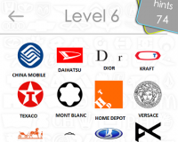 Logos Quiz Game Answers: Level 6 Part 2 – For iPod, iPhone, iPad