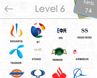 Logos Quiz Game Answers: Level 6 Part 3 – For iPod, iPhone, iPad