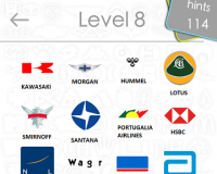 Logos Quiz Game Answers: Level 8 Part 1 – For iPod, iPhone, iPad