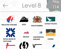 Logos Quiz Game Answers: Level 8 Part 4 – For iPod, iPhone, iPad