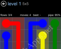 Flow Game Rainbow Pack – Cheat / Walkthrough / Solution