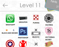 Logos Quiz Game Answers: Level 11 Part 3 – For iPod, iPhone, iPad