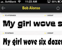 FontBook App Review