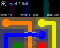 Flow Bridges Rainbow Pack Cheat / Walkthrough / Solutions