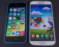 Samsung Galaxy S4 vs iPhone 5c