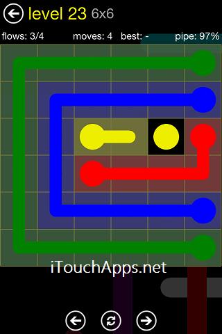 Flow Regular Pack 6 x 6 Level 23 Solution