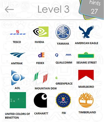 logos quiz answers: level 3 part 4
