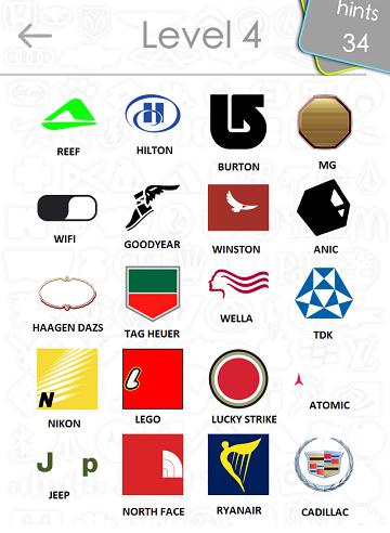logos quiz answers: level 4 part 3