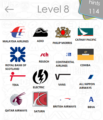 logos quiz answers: level 8 part 4