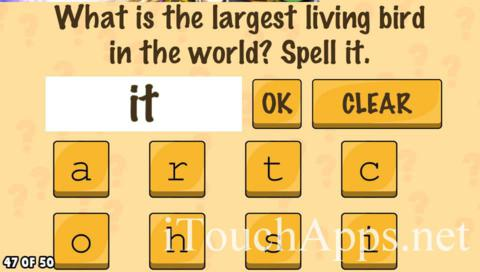 What's My IQ Level 47 Answer