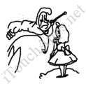 Badly Drawn Movies Alice in Wonderland