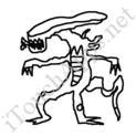 Badly Drawn Movies Alien