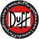 Logos Quiz Answers / Solutions DUFF BEER