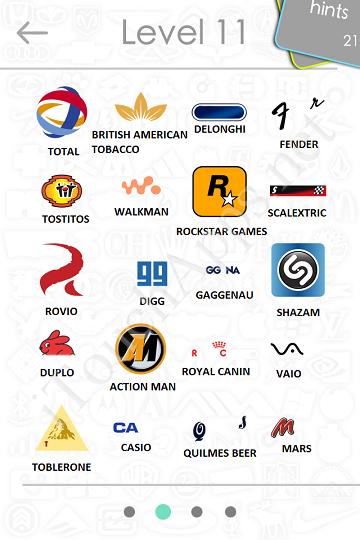 logos quiz answers: level 11 part 2