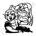 Badly Drawn Movies Starship Troopers
