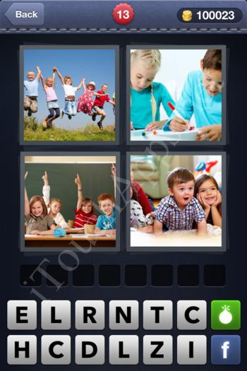 4 Pics 1 Word Level 13 Solution