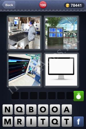 4 Pics 1 Word Level 199 Solution