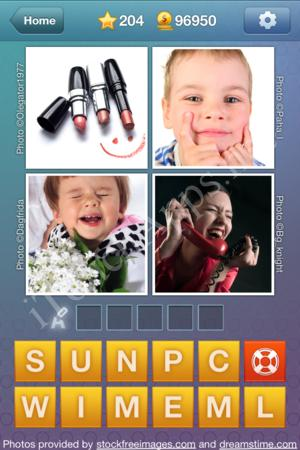 What's the Word Level 204 Solution