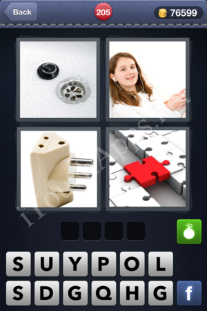 4 Pics 1 Word Level 205 Solution