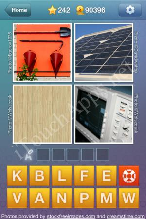 What's the Word Level 242 Solution