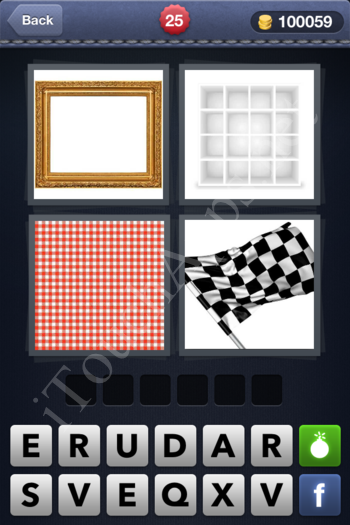 4 Pics 1 Word Level 25 Solution