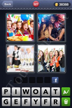 4 Pics 1 Word Level 327 Solution