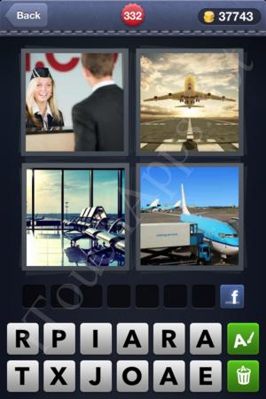 4 Pics 1 Word Level 332 Solution