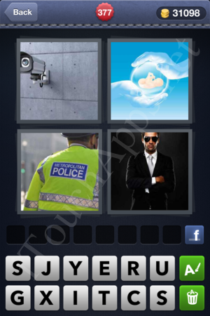 4 Pics 1 Word Level 377 Solution