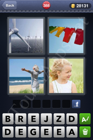 4 Pics 1 Word Level 388 Solution