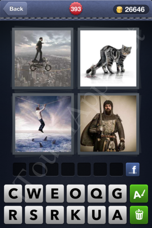 4 Pics 1 Word Level 393 Solution