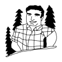 Badly Drawn Logos Brawny Paper Towel Man