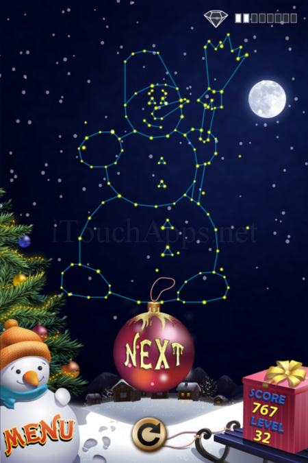 Pictorial Solution: 32 Level Christmas