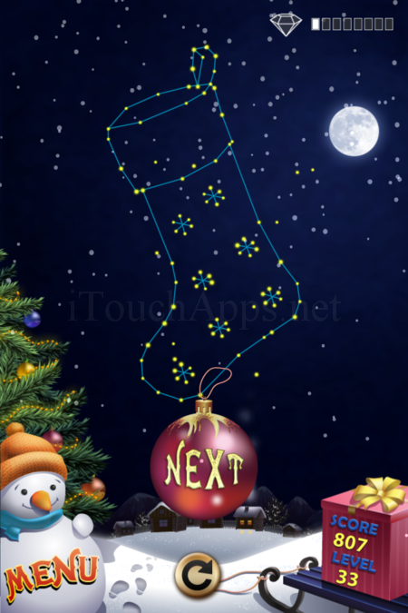 Pictorial Solution: 33 Level Christmas