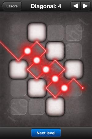 Lazors Diagonal 4 Solution