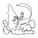 Badly Drawn Logos DreamWorks SKG